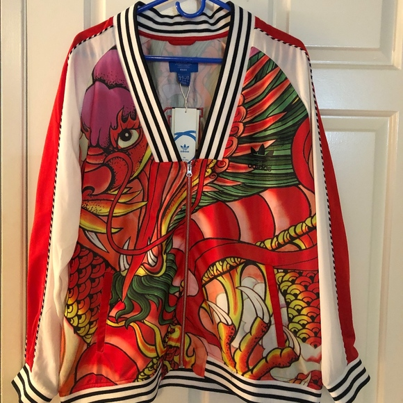 ADIDAS by Rita Ora - Dragon Print Track Jacket